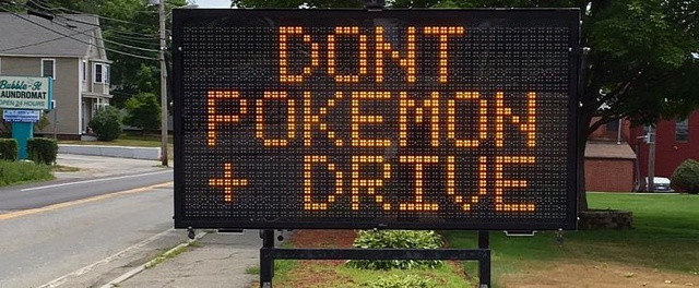 Pokemon GO Don't Drive