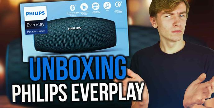 Unboxing Głośnika Bluetooth Philips EVERPLAY BT7900!