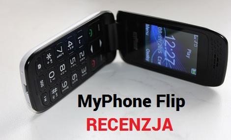 MyPhone Flip - Tani Telefon z Klapką