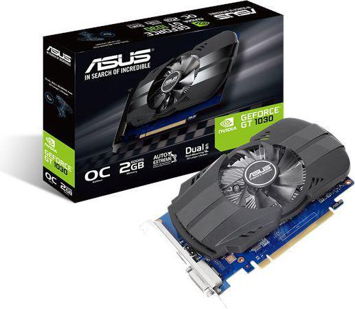 Asus GT 1030 Phoenix OC 2GB GDDR5 (64 bit), DVI-D, HDMI, BOX