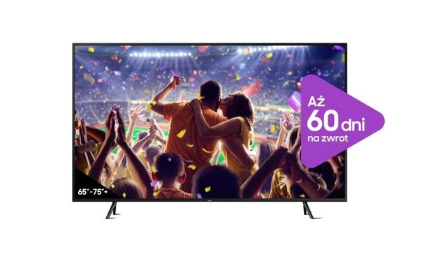 Europejczycy wolą duże telewizory - Samsung wychodzi naprzeciw promocją