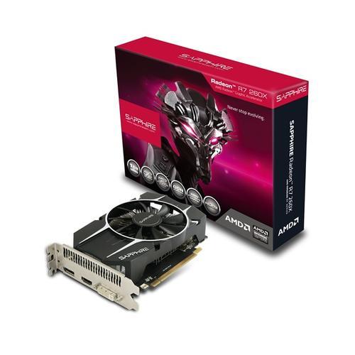 Sapphire Radeon R7 260XOC 1GB DDR5 128BIT HDMI/DVI/DP LITE