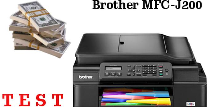 Atramentowe Urządzenie Wielofunkcyjne Które ma Sens! Brother MFC-J200