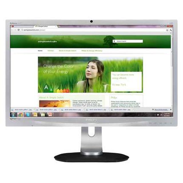 Innowacyjny monitor Philips 241P4LRYES z czujnikiem ErgoSensor, który dba o dobrą podstawę i higienę