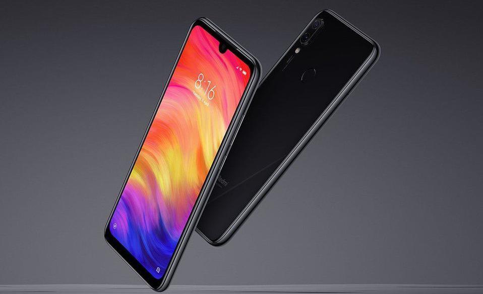 Xiaomi Redmi Note7 4/64GB Space Black