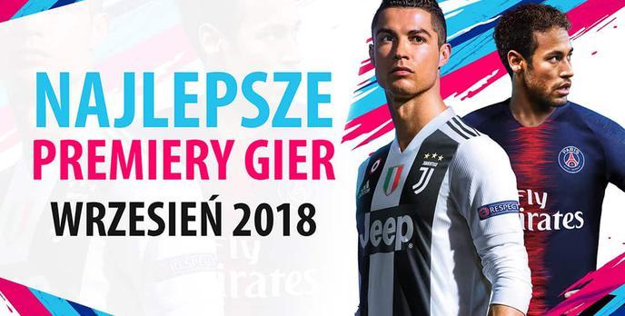 Najlepsze Premiery Gier Wrzesień 2018 - Spider-Man, FIFA 19, Tomb Raider