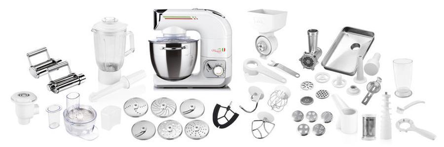 robot kuchenny ETA Gratus Maxipasta III 002890081 z wyposażeniem