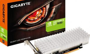 Gigabyte GeForce GT 1030 Silent Low Profile 2GB GDDR5 (64 Bit), DVI-D, HDMI, BOX (GV-N1030SL-2GL)