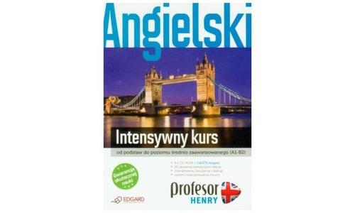 Edgard Profesor Henry: intensywny kurs (4 x CD ROM + ksiazka)