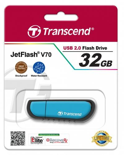 Transcend JETFLASH V70 32GB USB2 SHOCK/WATER PROOF