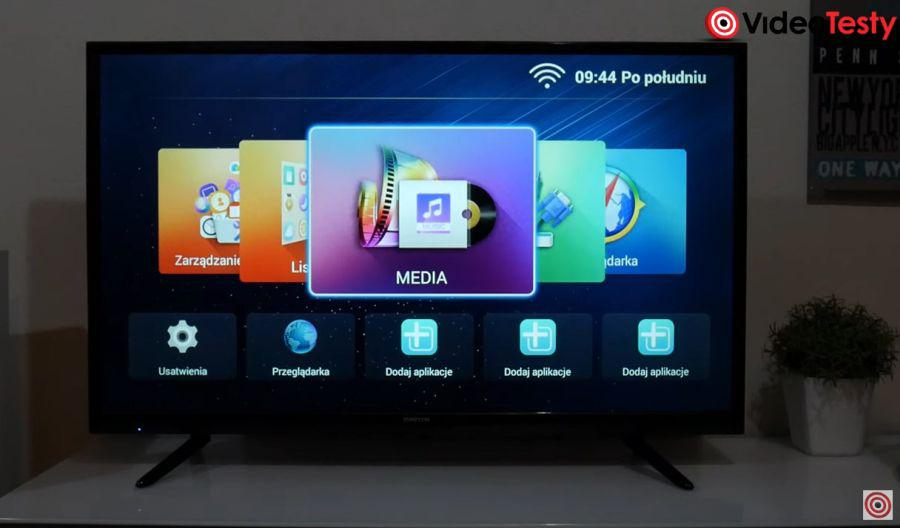 Manta 40LUA58K system Smart TV