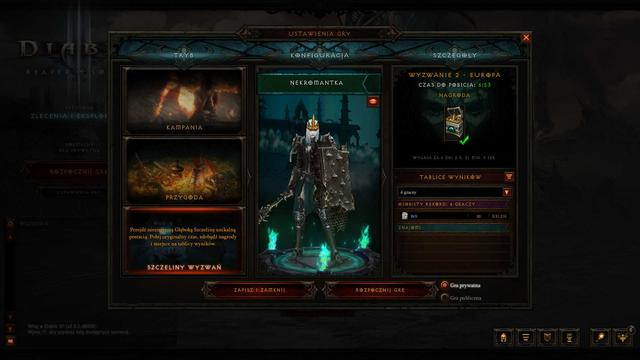 Diablo 3 Tryb Wyzwań
