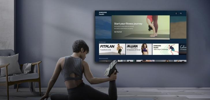 Ćwicz i zadbaj o zdrowie z telewizorami Samsung QLED