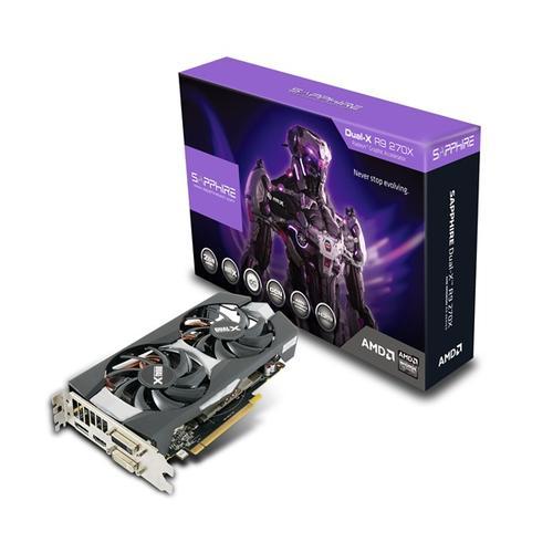 Sapphire Radeon R9 270XOC DUAL-X BOOST 4GB DDR5 PCI-E 256BIT 2DV/HDMI/DP