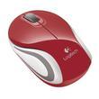 Logitech M187 Bezprzewodowa mini mysz 910-002737 Red