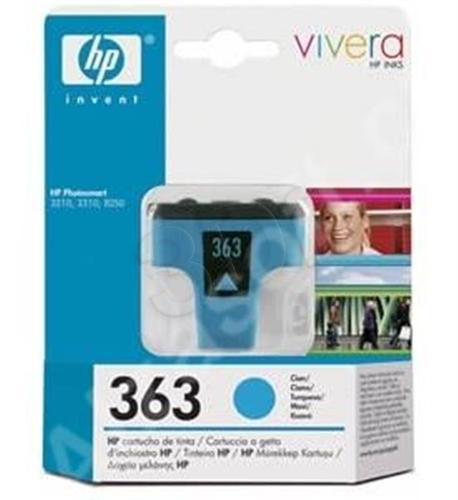 HP Tusz Niebieski HP363C=C8771EE, 350 str., 4 ml