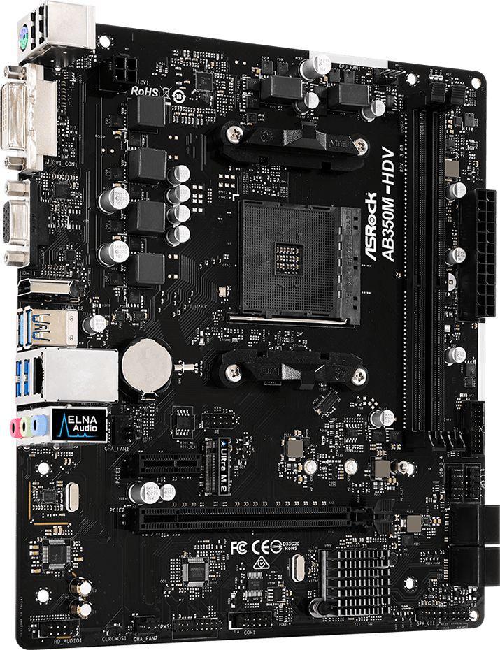 ASRock AB350M-HDV R3.0
