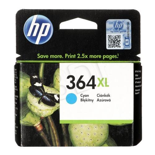 HP Tusz Niebieski HP364XL=CB323EE, 750 str., 6 ml