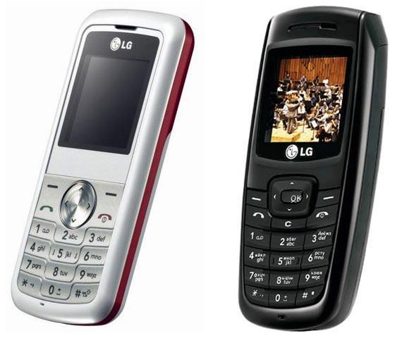 LG Ruby KP100 LG KG110