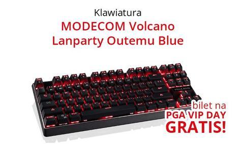 MODECOM Volcano Lanparty - Jeszcze Taniej i z Biletem na PGA
