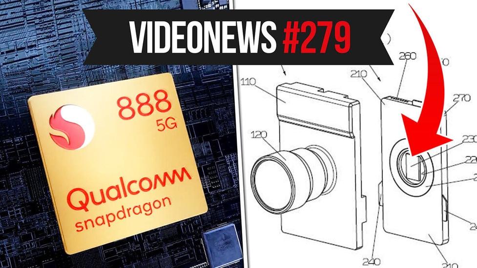 Snapdragon 888 5G, smartfony z obiektywami bezlusterkowców, Apple pozwane - VideoNews #279
