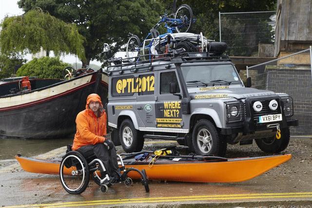 """Nowe wyzwanie Land Rovera w ramach programu """"Go Beyond"""" 2012"""