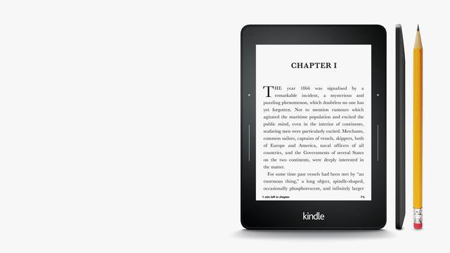 Klasyczny czytnik E-Bookow - Kindle Voyage