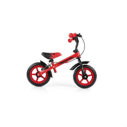 MILLY MALLY Rowerek biegowy Dragon Red