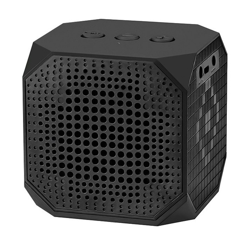 Qoltec Przenośny Bluetooth z mikrofonem, Czarny
