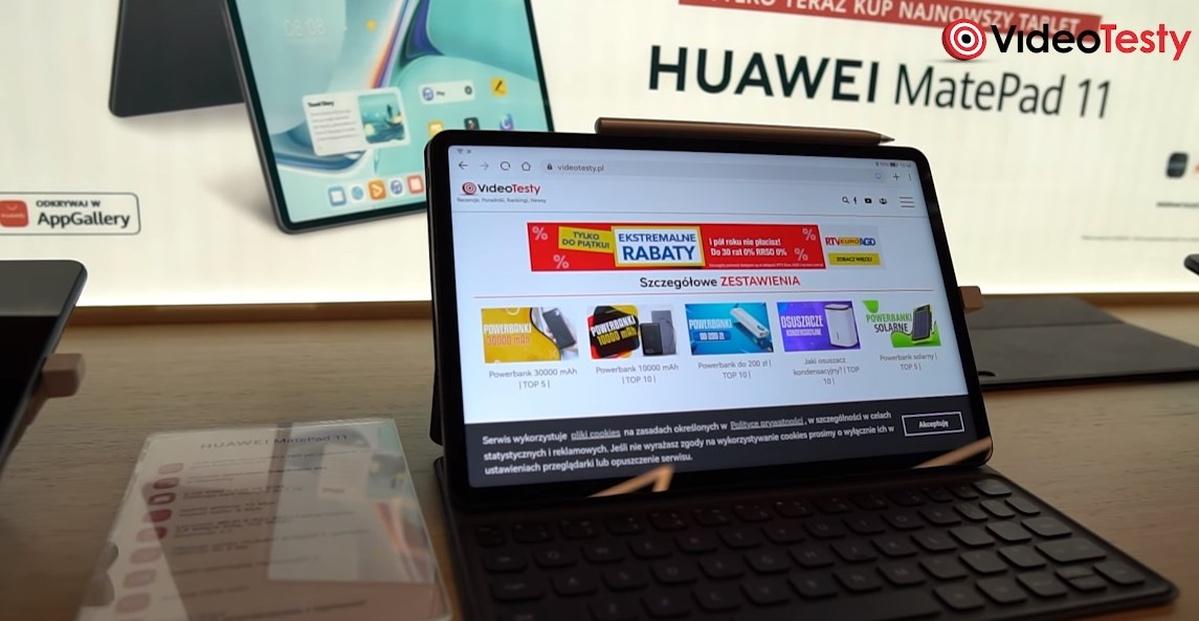 Huawei Matepad 11 tworzy niedrogi zestaw do pracy