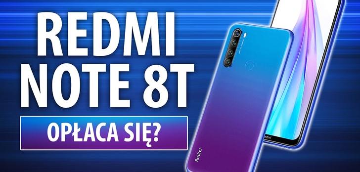 Test Redmi Note 8T - Czy warto kupić?