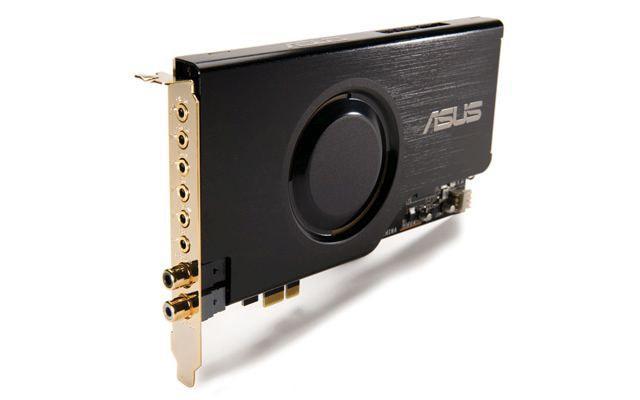 Asus oferuje bardzo dobrej jakości karty dźwiękowe