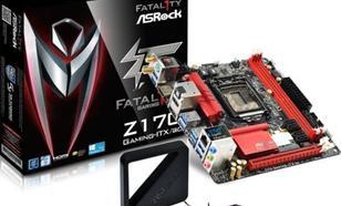 Płyta główna ASRock Z170 Gaming-ITX/ac, Z170, DDR4, SATA3, USB3.1, miniITX (Z170 GAMING-ITX/AC)