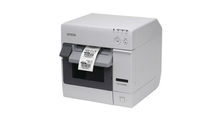 Atramentowa, monochromatyczna drukarka do trwałych etykiet