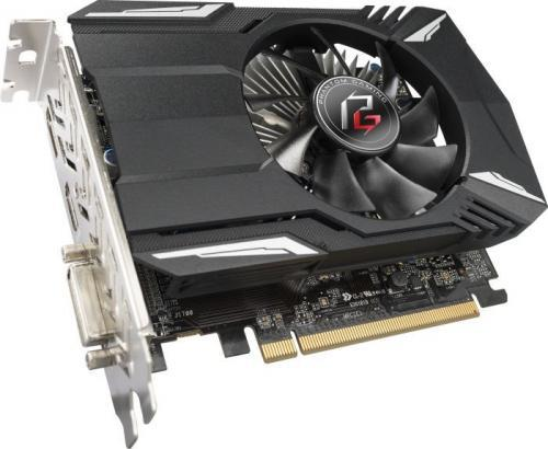 ASRock Phantom Gaming Radeon RX560 4G, 4GB, 1149 MHz, 8Gbps, DVI, DP,
