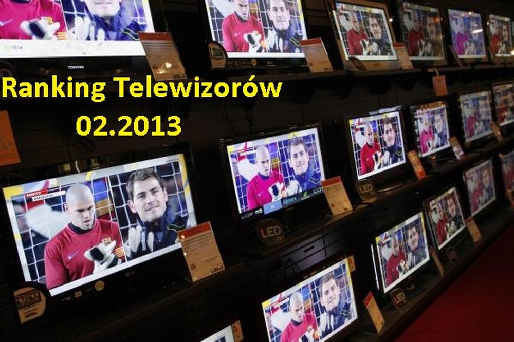 Ranking telewizorów - II 2013