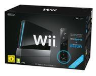 Nintendo Wii Black + Wii Sports Resort