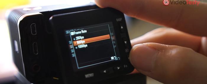 Sony RX0 II pozwala uzyskać 1000 fps