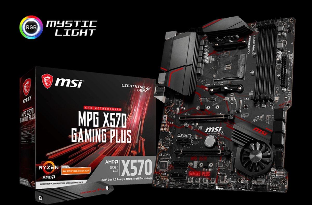 Płyta główna z pudełkiem MSI MPG X570 Gaming Plus