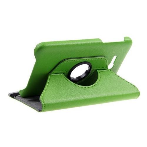 """WEL.COM Etui obrotowe 360° Galaxy Tab 3 7"""" Lite T110/T111 zielone"""