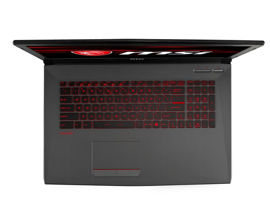 MSI GV72 8RE - palmrest