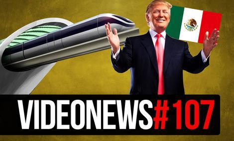 Mur Trumpa, Polska Przyszłości, Gin z Kosmosu - VideoNews #107