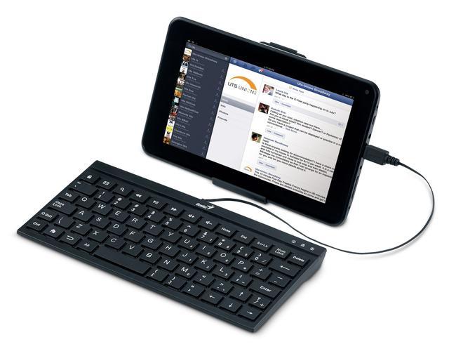Genius LuxePad A110 - Dotyk ekranu na klawiaturze