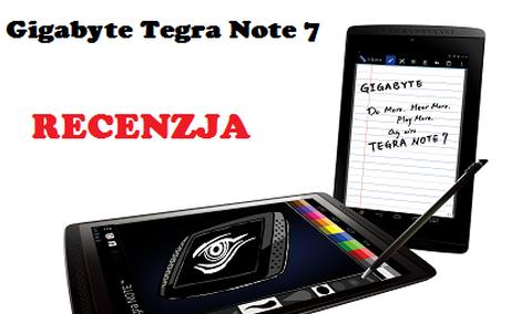 Gigabyte Tegra Note 7 - popisowy Tablet Nvidii