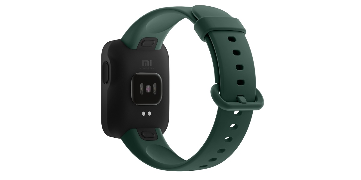 Xiaomi Mi Watch z tyłu skrywa pulsometr