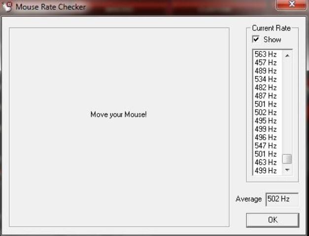 CM Storm Spawn  odświeżanie 500Hz