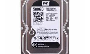 Western Digital Black WD5003AZEX 500GB 64MB SATA6Gb7200rpm