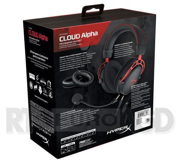 dla gracza HyperX Cloud Alpha PS4 Xone