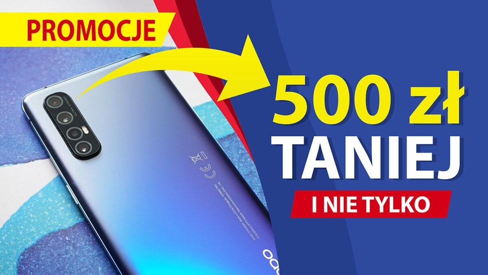 Smartfon Oppo 500 złotych taniej! Weekendowe promocje w RTV Euro AGD