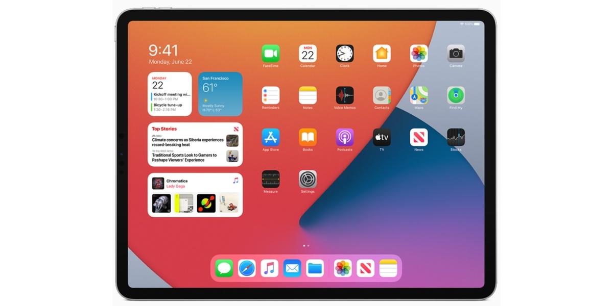 iPad OS przeszedł najmniejsze zmiany z mobilnych systemów Apple